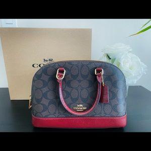 Coach signature mini sierra satchel